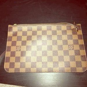 Authentic Louis Vuitton clutch